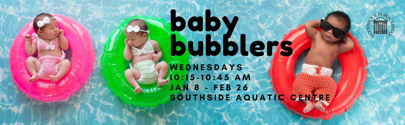 Baby Bubblers at Southside Aquatic Centre. Wednesdays, Jan 8- Feb 26, 10:15-10:45 am