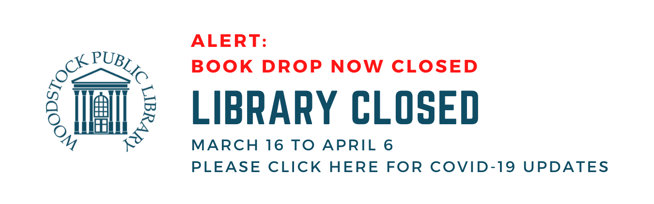 Library closed from March 16-April 6